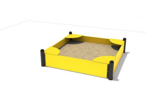 De Sandvika een zeer duurzame zandbak