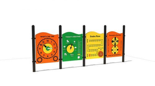 Bergen is een creatieve speelwand - XYZ Fantasia - Speeltoestellen - LuduQ speeltoestellen