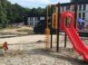 Montage klimtoestel met glijbaan aziel zoekers centrum zutphen - Klimtoestellen met glijbaan - Speeltoestellen - LuduQ speeltoestellen