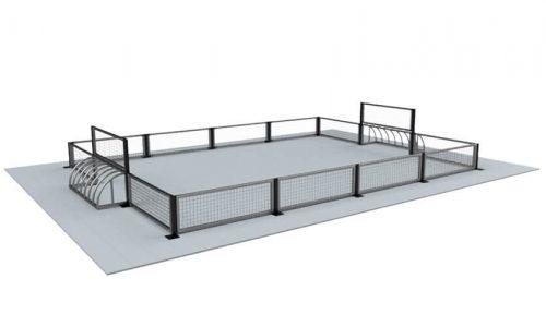 Munchen 6 x 4 meter - Balsporten - Speeltoestellen - LuduQ speeltoestellen