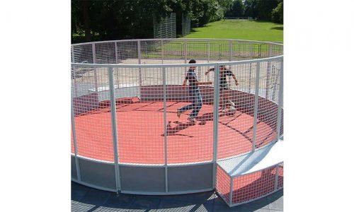 Liverpool rond 6 meter - Balsporten - Speeltoestellen - LuduQ speeltoestellen