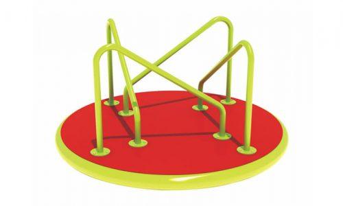 Draaitoestel Montpellier is een verrassend toestel welke eenvoudig draait - Draaitoestellen - LuduQ speeltoestellen