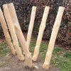 Balanceer en klimtoestel van hout in park - Houten klimtoestellen - Robinia houten speeltoestellen - LuduQ speeltoestellen