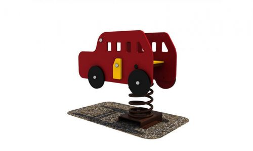 Wipkip bus - Veer- en wipelementen - Speeltoestellen - LuduQ speeltoestellen