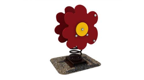 Wipkip bloem - Veer- en wipelementen - Speeltoestellen - LuduQ speeltoestellen