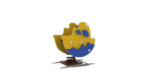 Veerelement schip - Veer- en wipelementen - Speeltoestellen - LuduQ speeltoestellen
