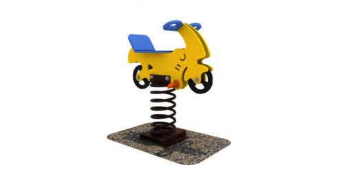 Wipkip brommer - Veer- en wipelementen - Speeltoestellen - LuduQ speeltoestellen