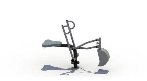 Graaf is een graaftoestel van metaal - XYZ Fantasia - Speeltoestellen - LuduQ speeltoestellen