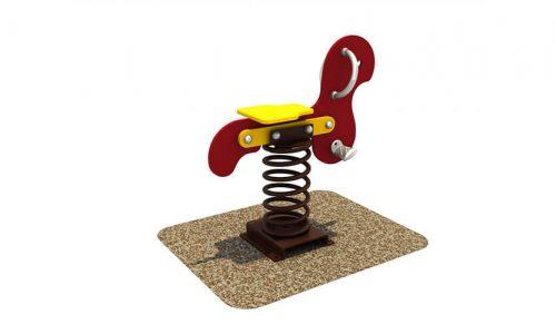 Wipkip haas - Veer- en wipelementen - Speeltoestellen - LuduQ speeltoestellen
