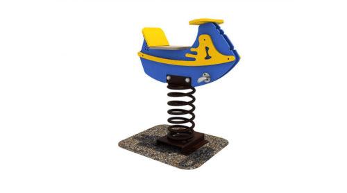 Wipkip boot - Veer- en wipelementen - Speeltoestellen - LuduQ speeltoestellen