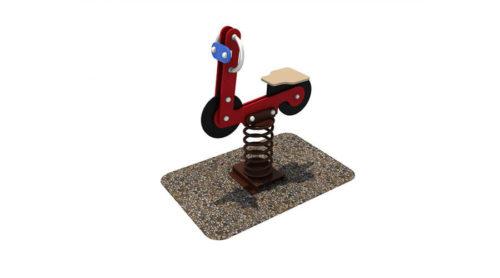 Wipkip motor - Veer- en wipelementen - Speeltoestellen - LuduQ speeltoestellen