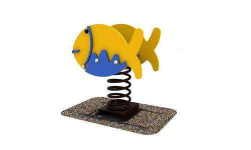 Wipkip vis - Veer- en wipelementen - Speeltoestellen - LuduQ speeltoestellen
