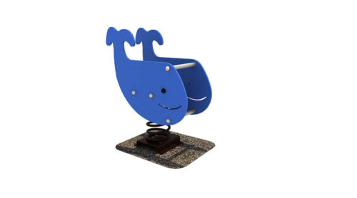 Wipkip walvis - Veer- en wipelementen - Speeltoestellen - LuduQ speeltoestellen