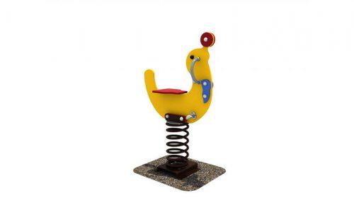 Wipkip zeehond - Veer- en wipelementen - Speeltoestellen - LuduQ speeltoestellen