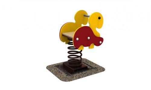 Wipkip eend - Veer- en wipelementen - Speeltoestellen - LuduQ speeltoestellen