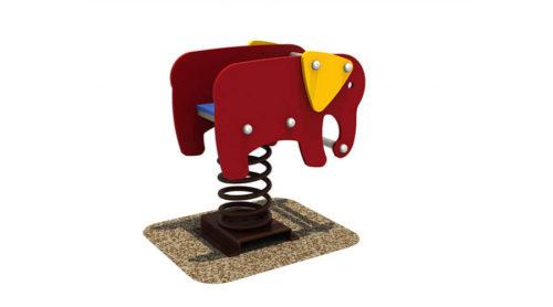 Oliefant wipkip - Veer- en wipelementen - Speeltoestellen - LuduQ speeltoestellen