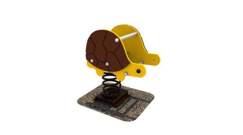 Wipkip schildpad - Veer- en wipelementen - Speeltoestellen - LuduQ speeltoestellen