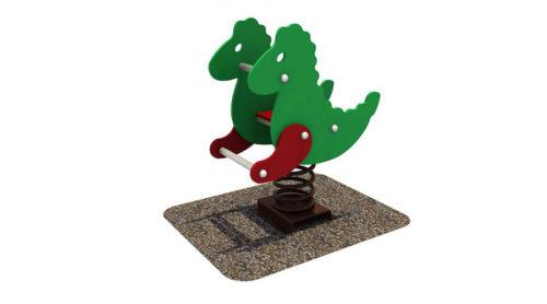 Wipkip zeepaardje - Veer- en wipelementen - Speeltoestellen - LuduQ speeltoestellen