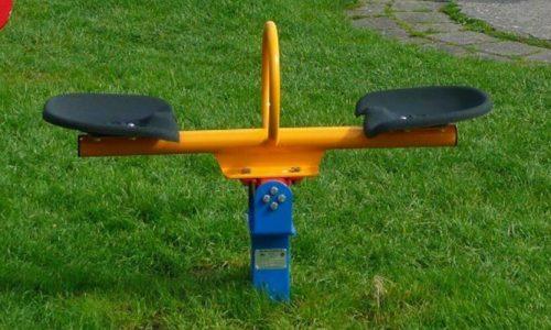 Twee persoons mini wip - Veer- en wipelementen - Speeltoestellen - LuduQ speeltoestellen