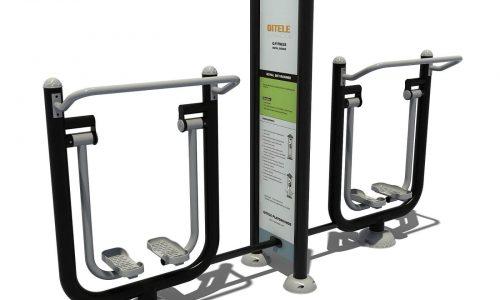 Dubbel airwalker fitness aparaat met instructiebord - Fitness - Sport en spel - LuduQ speeltoestellen