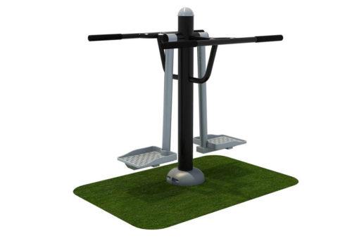 Dubbele heup swing fitnessapparaat - Fitness - Sport en spel - LuduQ speeltoestellen
