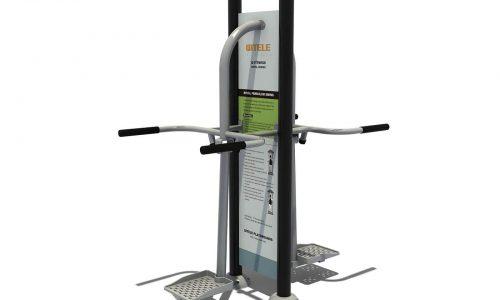 Dubbel heupswing fitnessapparaat met instructiebord - Fitness - Sport en spel - LuduQ speeltoestellen