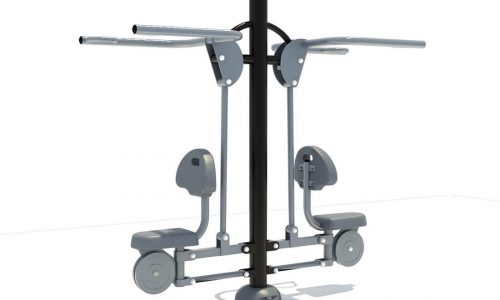Dubbel lat pull down fitness aparaat - Fitness - Sport en spel - LuduQ speeltoestellen