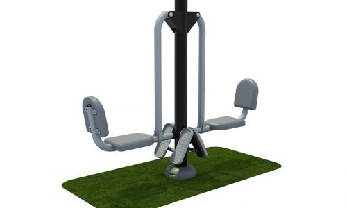 Leg press fitnessapparaat van dubbel - Fitness - Sport en spel - LuduQ speeltoestellen