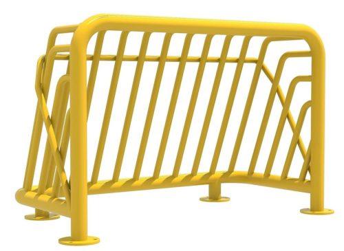 Voorkant geel voetbaldoel roestvrij staal - Balsporten - Sport en spel - LuduQ speeltoestellen