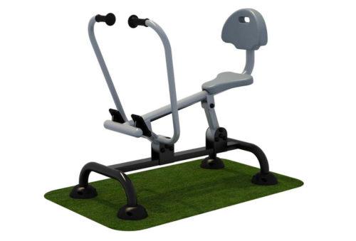 Fitnessapparaat met roeibeweging - Fitness - Sport en spel - LuduQ speeltoestellen