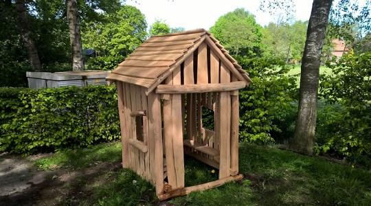 Robinia houten speelhuisje LuduQ