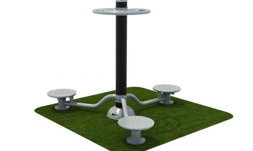 Taille twister roestvrij staal - Fitness - Sport en spel - LuduQ speeltoestellen
