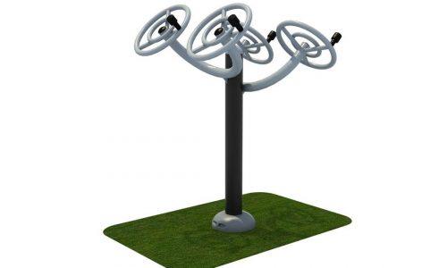 Thi chi spinners dubbel roestvrij staal - Fitness - Sport en spel - LuduQ speeltoestellen