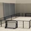 Voetbalveld 10 x 4 meter - Balsporten - Sport en spel - LuduQ speeltoestellen