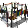 Kleurrijk regenboog klimtoestel - Klimtoestellen - Speeltoestellen - LuduQ speeltoestellen