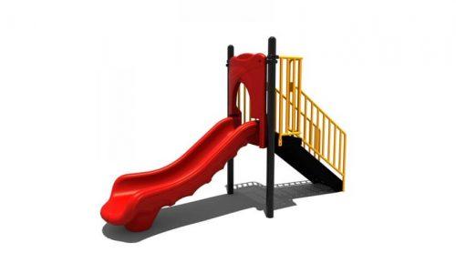 Duiven is een speeltoestel van metaal met glijbaan - Klimtoestellen met glijbaan - Speeltoestellen - LuduQ speeltoestellen
