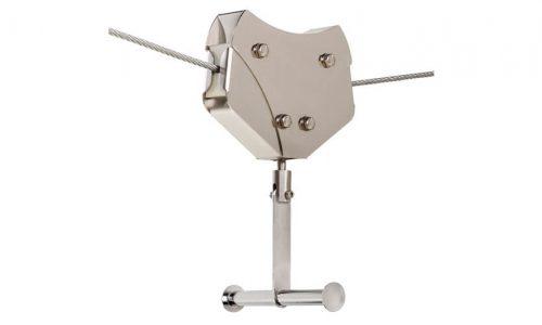 Rolwagentje voor kabelbaan met handgreep - Kabelbaan onderdelen - Onderdelen - LuduQ speeltoestellen
