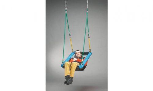 Zitschommel voor gehandicapten - Schommelzittingen - Onderdelen - LuduQ speeltoestellen