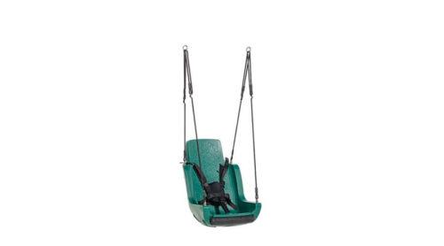 Groene schommelzitting voor gehandicapten - Schommelzittingen - Onderdelen - LuduQ speeltoestellen