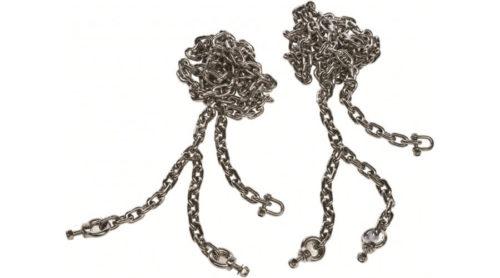 Set schommelkettingen van roestvrij staal - schommelonderdelen - LuduQ speeltoestellen