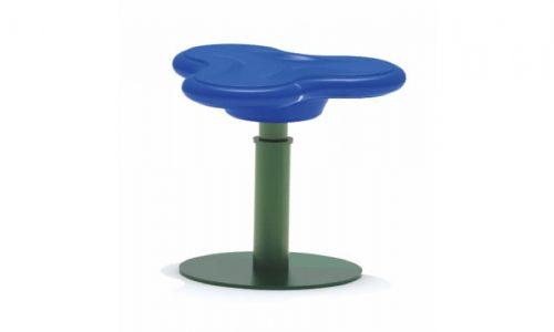 Draaitoestel met blauwe zitting - Draaitoestellen - Speeltoestellen - LuduQ speeltoestellen